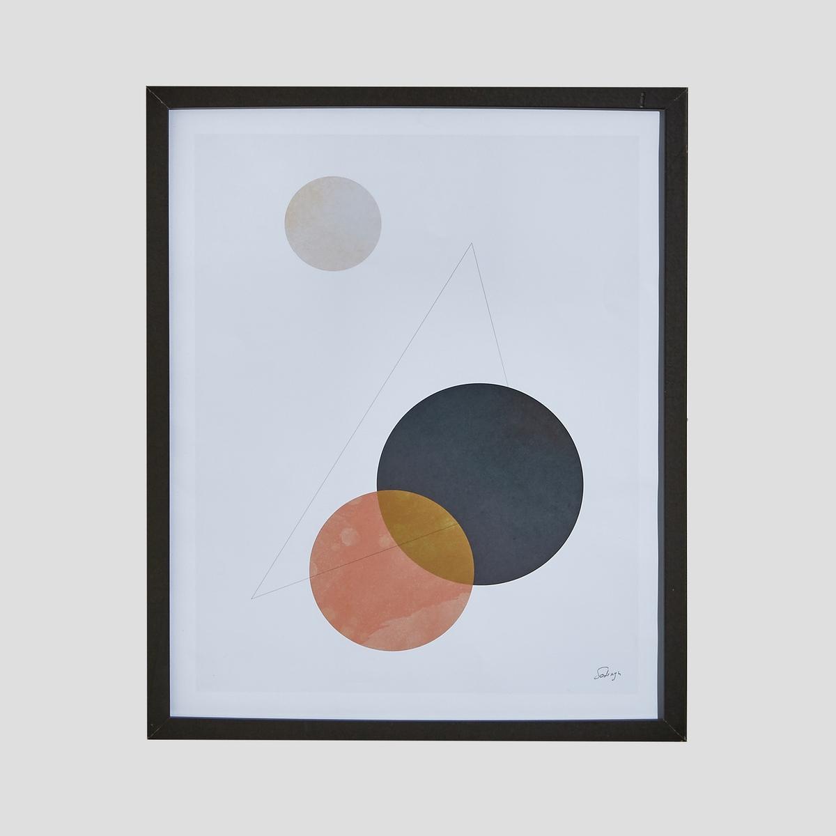 Плакат настенный синего и розового цветов, BelaskoПлакат Belasko. Абстрактный рисунок на офсетной бумаге, 170 г. Из бумаги. Размеры : Ш.40 x В.50 см. Плакат поставляется в картонном тубусе.<br><br>Цвет: синий/розовый<br>Размер: единый размер