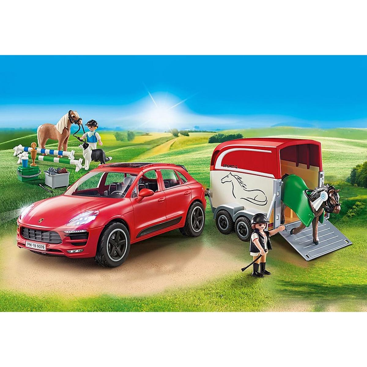 An image of Playmobil Porsche Macan Gts