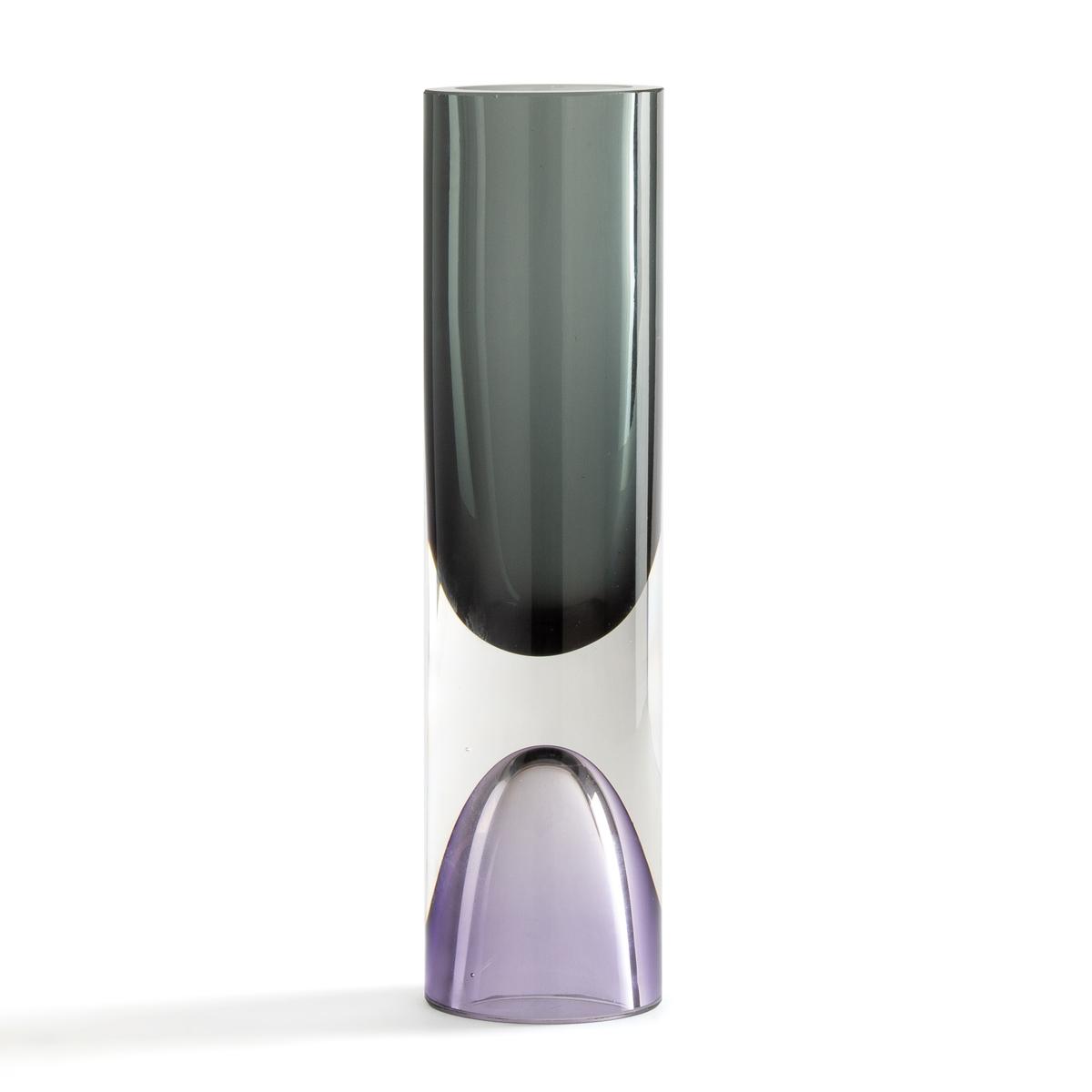 Ваза LaRedoute Из стекла большая модель В30 см Capsule единый размер серый ваза la redoute из стекла с обсыпкой выс см callipe единый размер серый