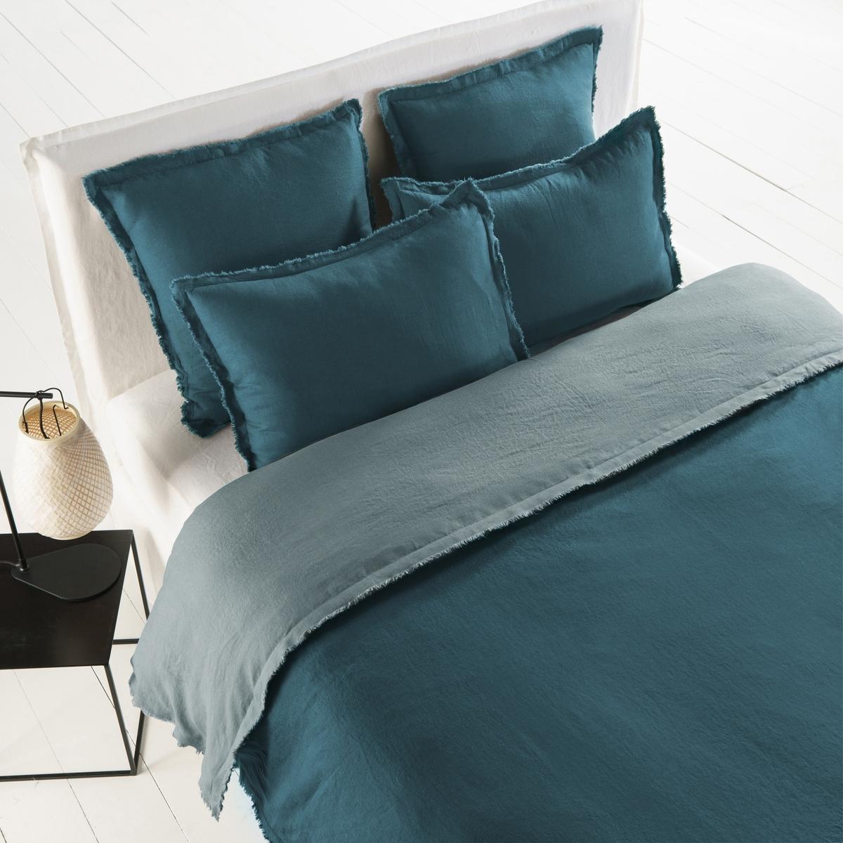 Пододеяльник PurangiМатериал :- 100% лен.Отделка :- Застежка на пуговицы по низу.Уход :Машинная стирка при 60 °С. Размеры :140 x 200 см : 1-сп200 x 200 см  : 1-2-сп.240 х 220 см : 2-сп.260 х 240 см : 2-сп.<br><br>Цвет: зеленый кедровый,светло-синий,серый