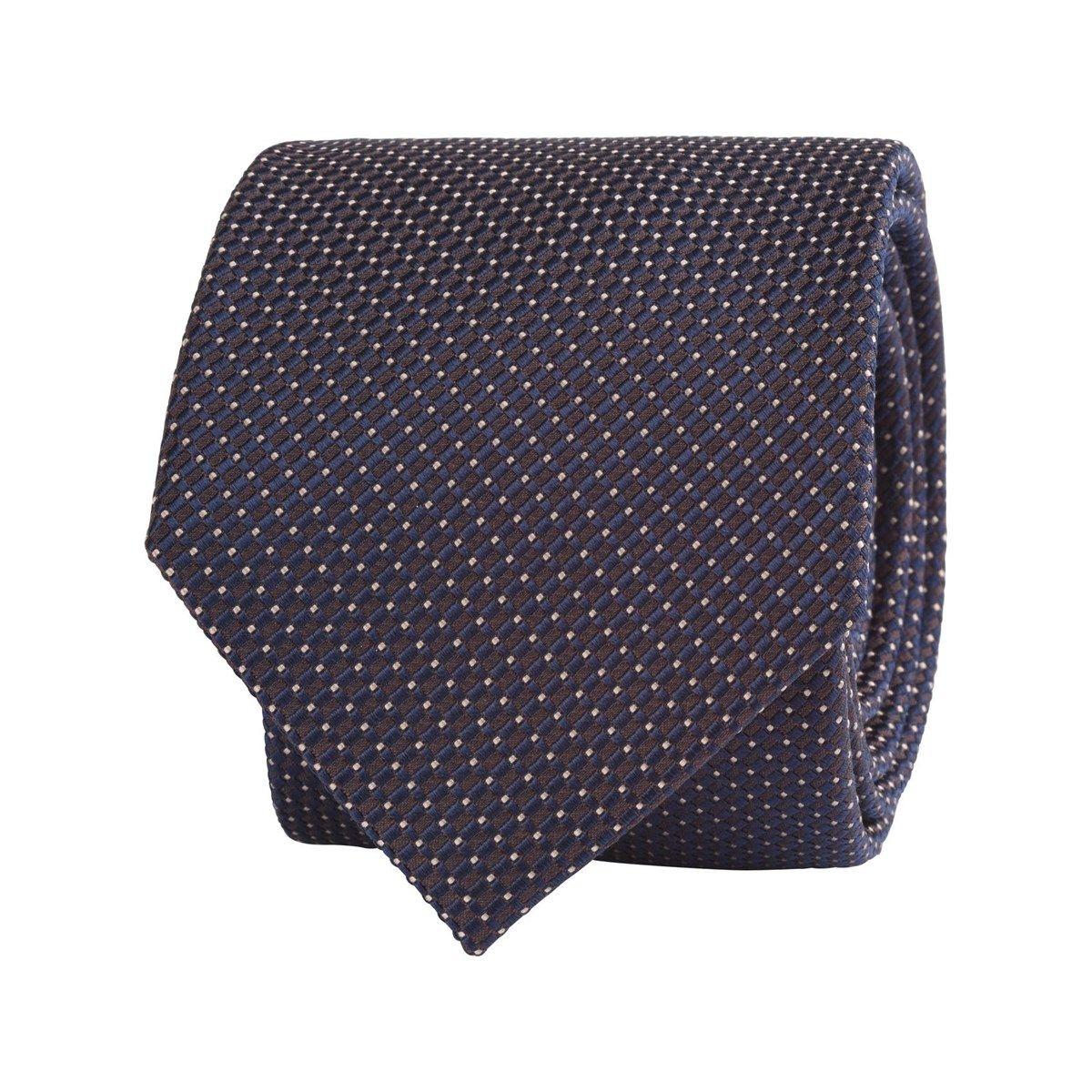 Cravate 100% soie micro motif