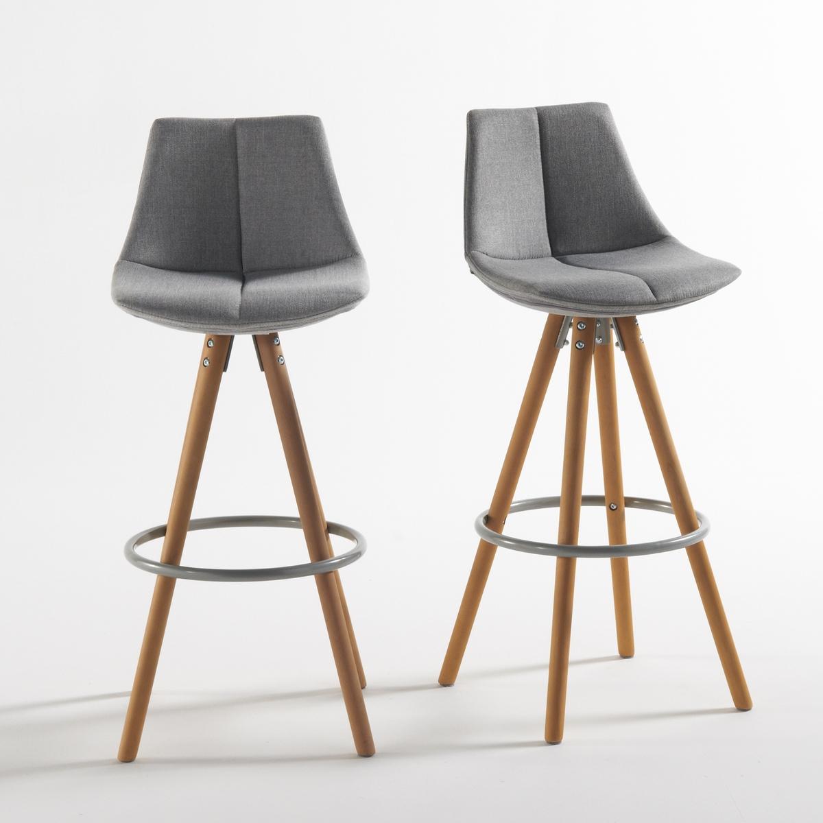 2 стула барных ASTING2 барных стула Asting. Барные стулья Asting  являются наследием скандинавского дизайна 70-х годов, красивые, комфортные и оригинальные !Характеристики барных стульев Asting : Сиденье и спинка : из полипропилена, наполнитель из пеноматериала 100% полиуретан, 24 кг/м? .Обивка: ткань, 100% полиэстер.Ножка : ножки из массива бука, покрытие нитролаком - опоры для ног из стальной трубы, покрытие эпоксидным лаком.Для оптимального качества и устойчивости рекомендуется надежно затянуть болты. Размеры барного стула Asting : Ширина : 42 см. Глубина : 42 см.Высота : 99 смВысота сидения : 75 смРазмеры и вес упаковки:1 коробкаВес : 14 кг76 x 54 x 33 смДоставка : Барные стулья Asting доставляются в разобранном виде.  Возможна доставка до квартиры по предварительному согласованию!Внимание ! Убедитесь, что дверные, лестничные и лифтовые проемы позволяют осуществить доставку коробки таких габаритов .<br><br>Цвет: серый