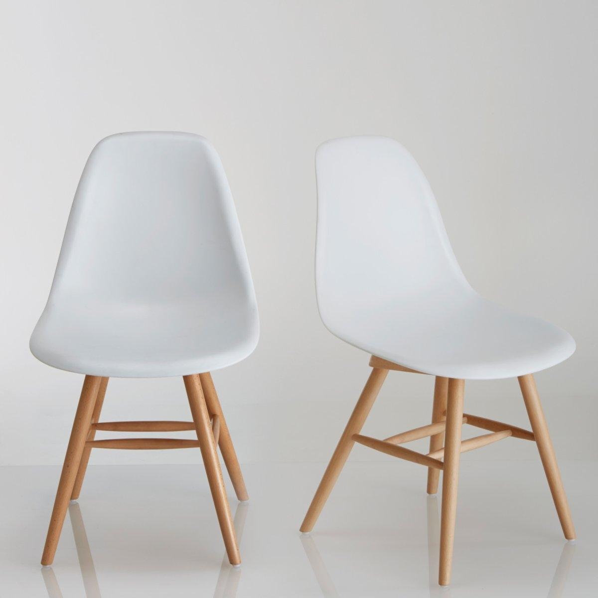 Комплект из 2 пластиковых стульев, Jimi