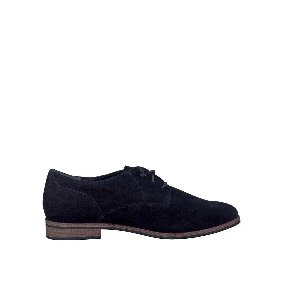 Ботинки-дерби кожаные 23204-28Верх/Голенище: кожа.  Подкладка: текстиль и синтетика.Стелька: синтетика.Подошва: синтетика.Высота каблука: 2 см.  Форма каблука: плоский каблук.Мысок: закругленный.Застежка: шнуровка.<br><br>Цвет: серо-коричневый,черный
