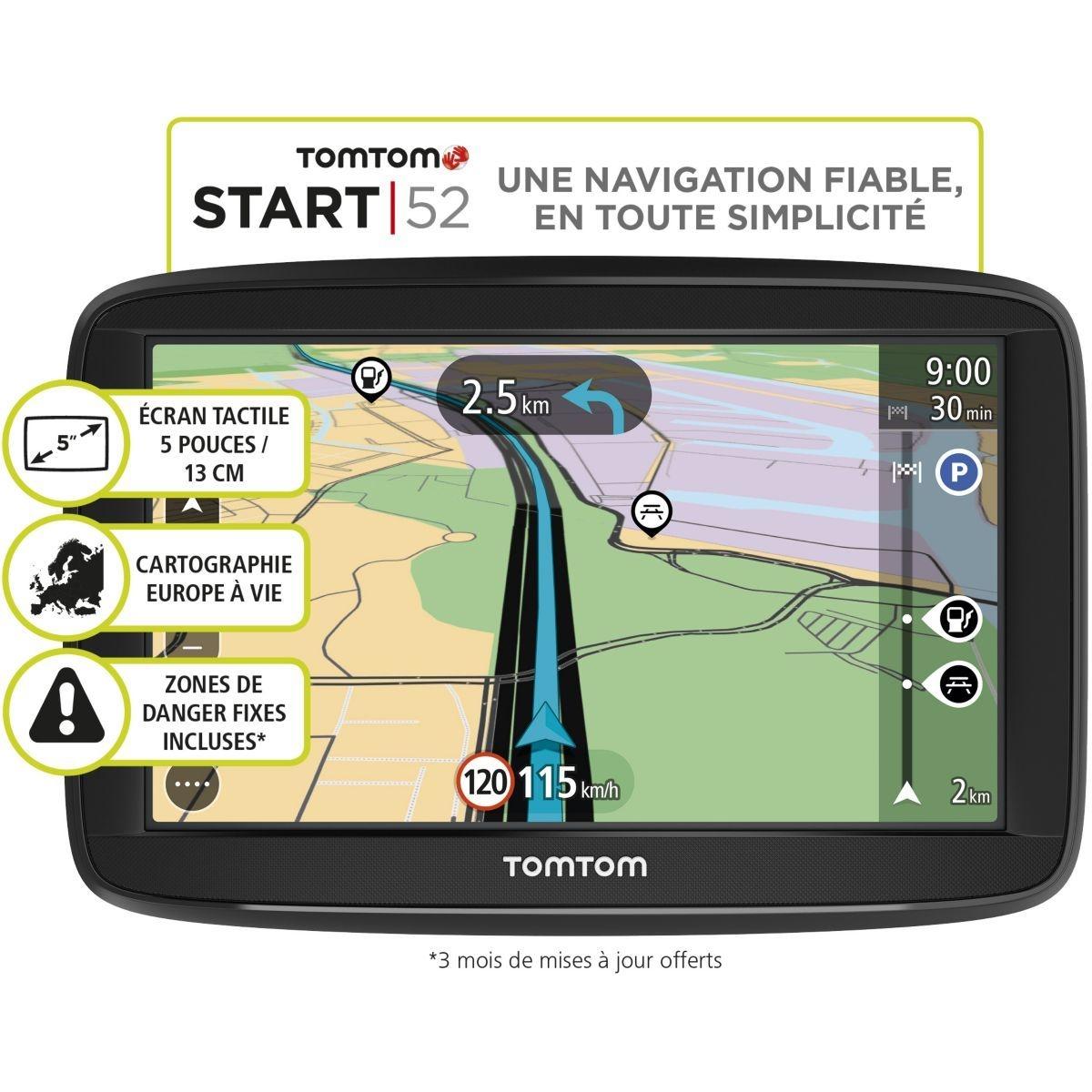 GPS TOMTOM Start 52 Europe 48 pays