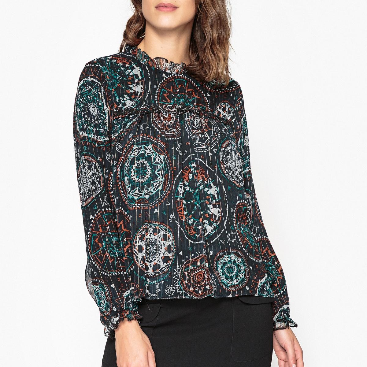 Блузка с рисунком HANNAH