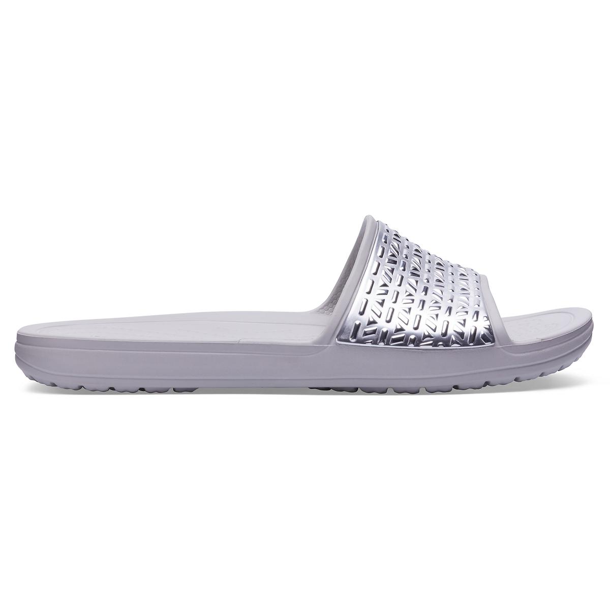 Туфли без задника из синтетики