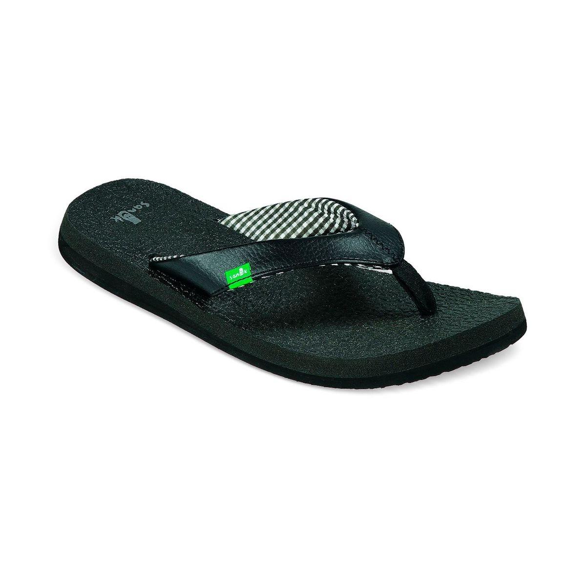 Yoga Mat - Sandales - noir