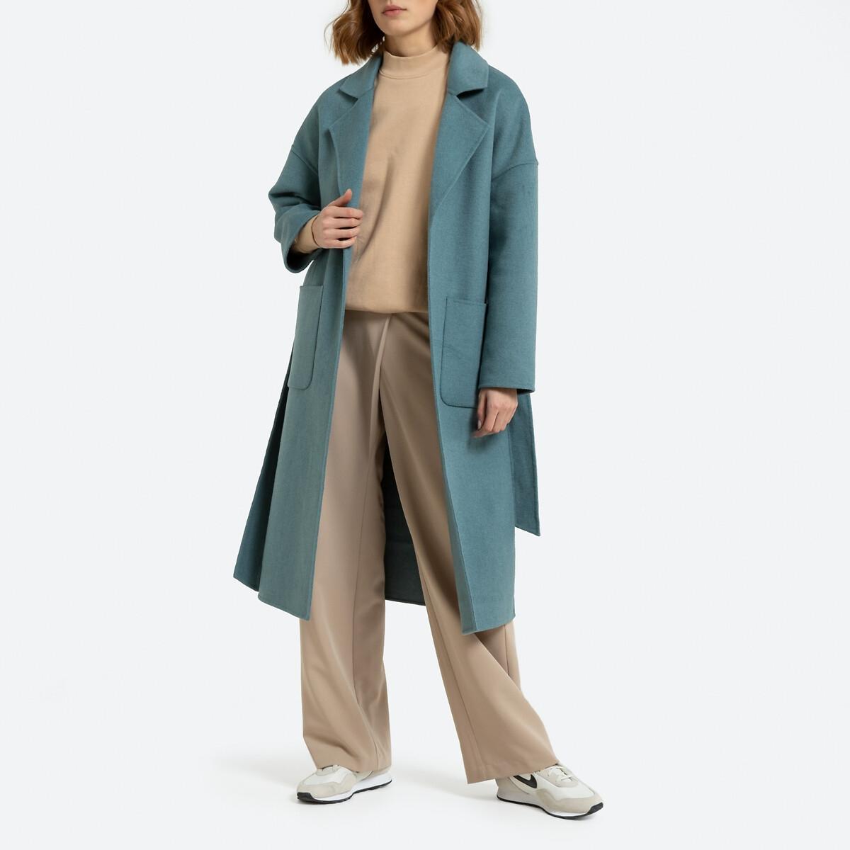 Manteau ample forme peignoir fait main
