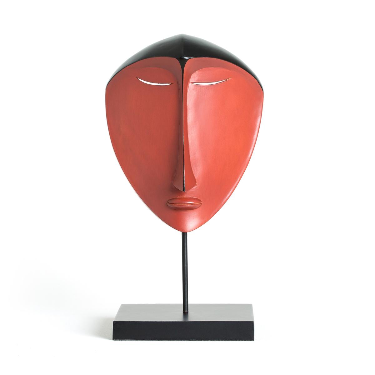 Маска в африканском стиле, NyalaМаска в африканском стиле Nyala . Невероятно стильная маска в африканском стиле Nyala принесет аутентичность и загадочность в ваш интерьер . Описание африканской маски Nyala :Дерево Дьяола (Alstonia scholaris) с резным рисунком  .Отделка под терракоту .Найдите всю нашу коллекцию предметов декора Nyala на сайте laredoute .ruРазмеры африканской маски Nyala :Ширина : 20 смВысота : 32 смГлубина : 18 см.<br><br>Цвет: терракота<br>Размер: единый размер