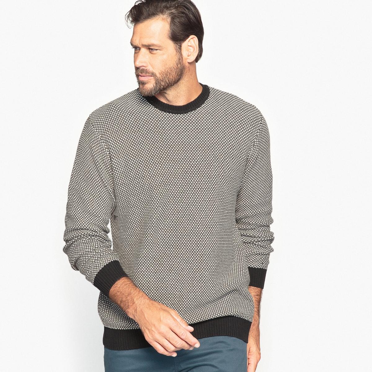 Пуловер стандартного покроя