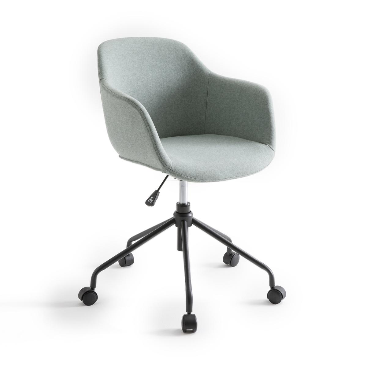 Кресло La Redoute Офисное вращающееся на колесиках Nyjo единый размер зеленый кресло офисное на колесиках azzo