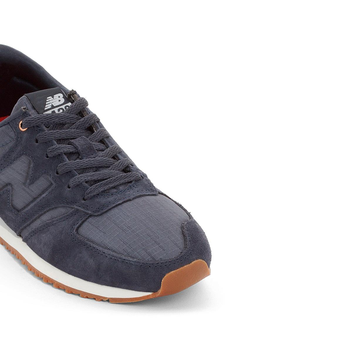Кроссовки WL420SCAОписание:Детали   •  Вид спорта : Мультиспорт •  Плоский каблук •  Застежка : шнуровкаСостав и уход   •  Верх 100% кожа •  Подкладка 100% текстиль •  Стелька 100% текстиль •  Подошва 100% каучук<br><br>Цвет: сине-серый<br>Размер: 36