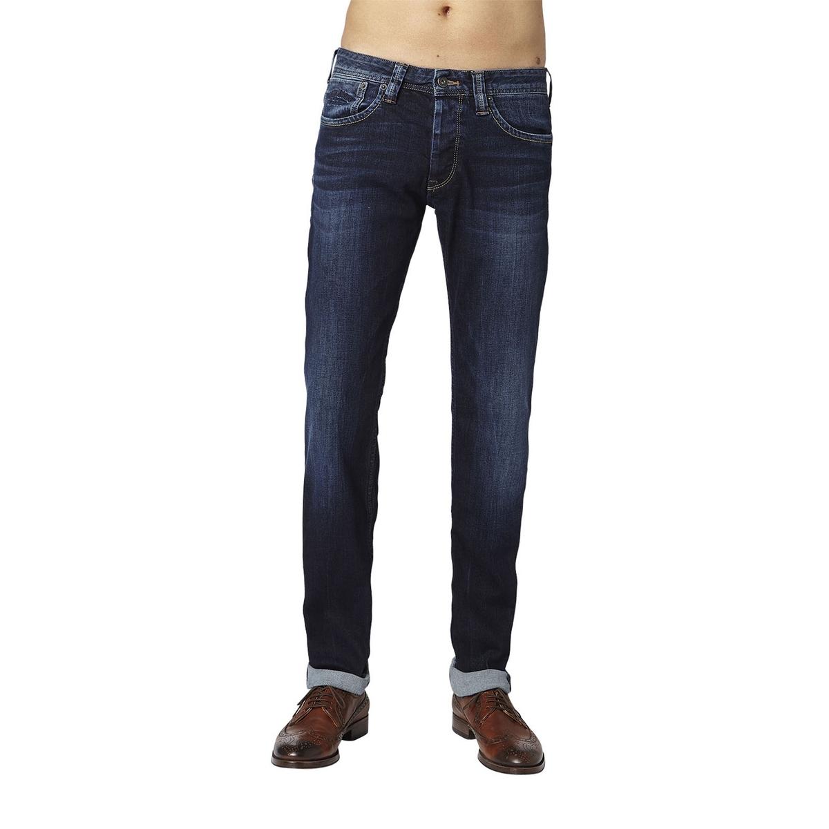 Джинсы La Redoute Узкие Hatch 36/34 синий джинсы узкие ezzy