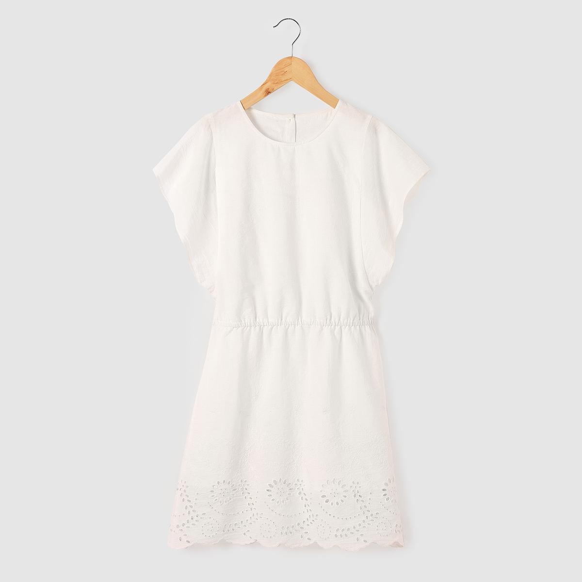 Платье с английским кружевом, 10-16 лет