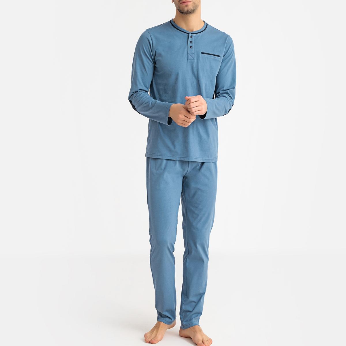 Pijama de mangas compridas
