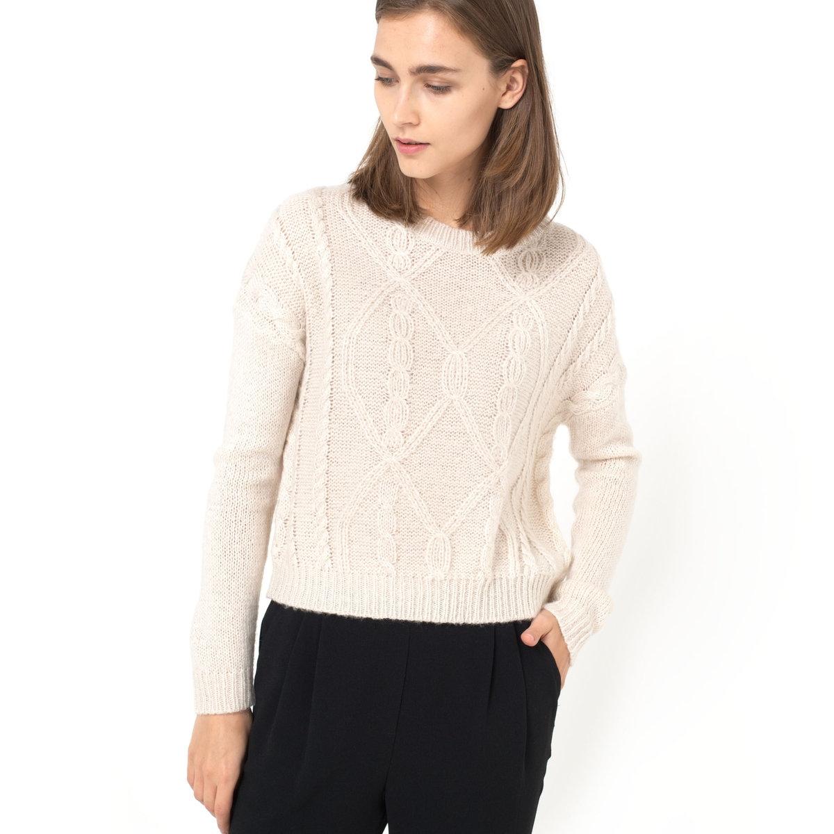 Пуловер короткий пуловер