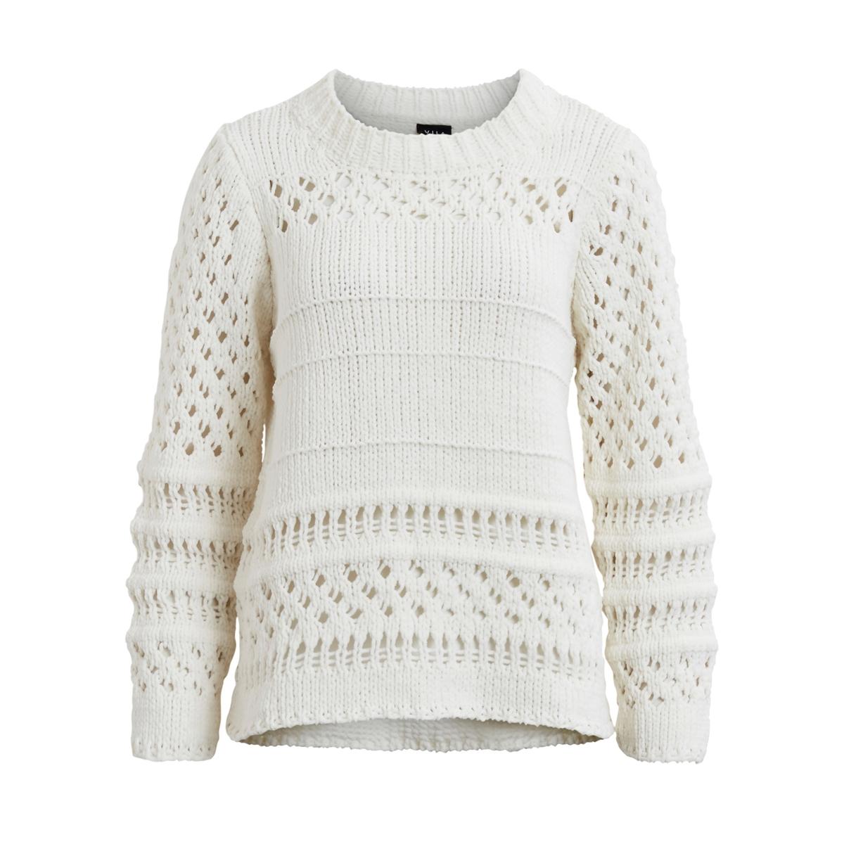 Пуловер из оригинального трикотажаМатериал: 100% полиэстер.Длина рукава: длинные рукава.Форма воротника: высокий воротник.Покрой пуловера: стандартный.Рисунок: однотонная модель.<br><br>Цвет: хаки светлый,экрю<br>Размер: S
