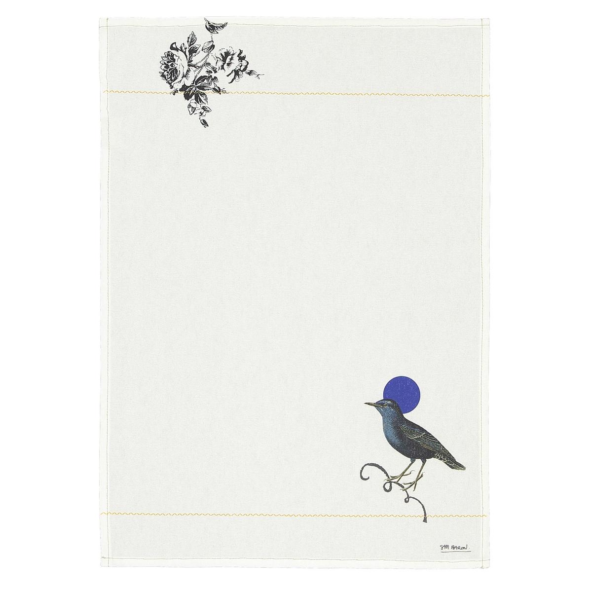 4 полотенца кухонных, SAM BARONДизайнер SAM BARON снова поделился своим талантом с La Redoute Int?rieurs .В своей коллекции, которая называется «Встречать», эксклюзивно для La Redoute Int?rieurs он с юмором и элегантностью интерпретировал линию предметов декора . Эстетические коды с сюрреалистическим акцентом отражают ироничный и поэтичный взгляд на мир Дома !Характеристики 4 кухонных полотенец Sam Baron :- 100% хлопок- Цифровой рисунок, 4 различных узора- Подрубленные края- Золотистая прострочка- Стирка при 40°Размеры 4 кухонных полотенец Sam Baron :- 50 x 70 см<br><br>Цвет: белый наб.рисунок<br>Размер: комплект из 4