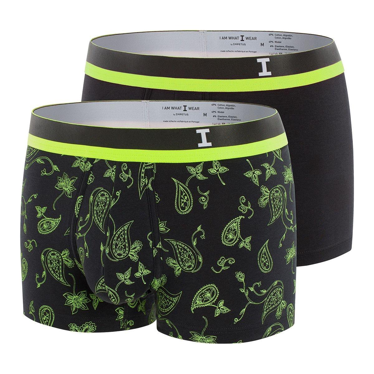 Pack de 2 boxers en fibre lyocell I am unconventional