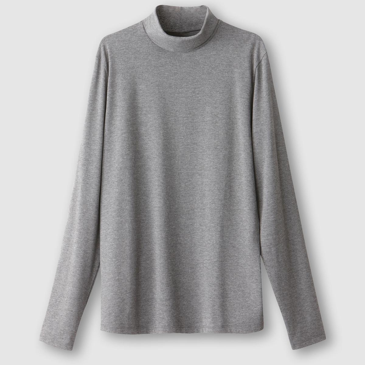 Футболка с длинными рукавами и воротникомСостав и описание :Материал : джерси стрейч - 95% хлопка, 5% эластана черного цвета75% хлопка, 20% полиэстера, 5% эластана для цвета темно-серый меланжМарка: R essentielУходМашинная стирка при 30 °С<br><br>Цвет: темно-серый меланж<br>Размер: XL