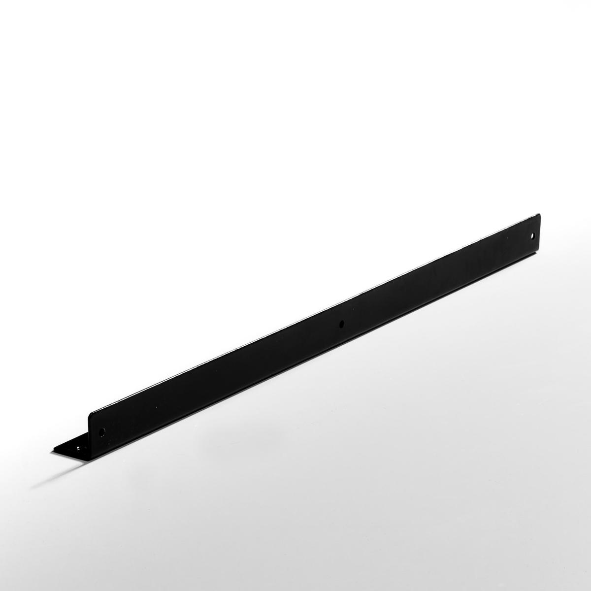 2 кронштейна для угловых этажерок   KyrielКомплект из 2 кронштейнов для угловых этажерок Kyriel из металла с эпоксидным покрытием, подходит для гардеробных Kyriel.Специально созданы для фиксации угловых этажерок гардеробной.Крепится на стойки.Гардеробные Kyriel - это эстетичная и практичная модульная система хранения, которую можно адаптировать к любому пространству и любому стилю интерьера.<br><br>Цвет: черный