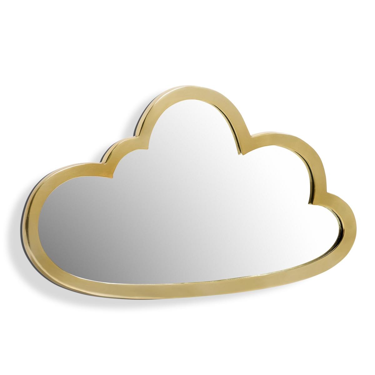 Зеркало в форме облака, из латуни Д45 x В26 см, Zicowi<br><br>Цвет: прозрачный