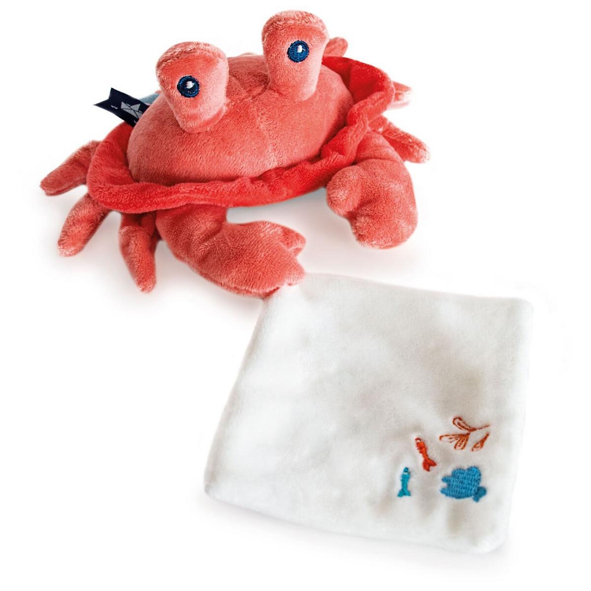 An image of Doudou Et Compagnie 19cm Newborn Crab Comforter