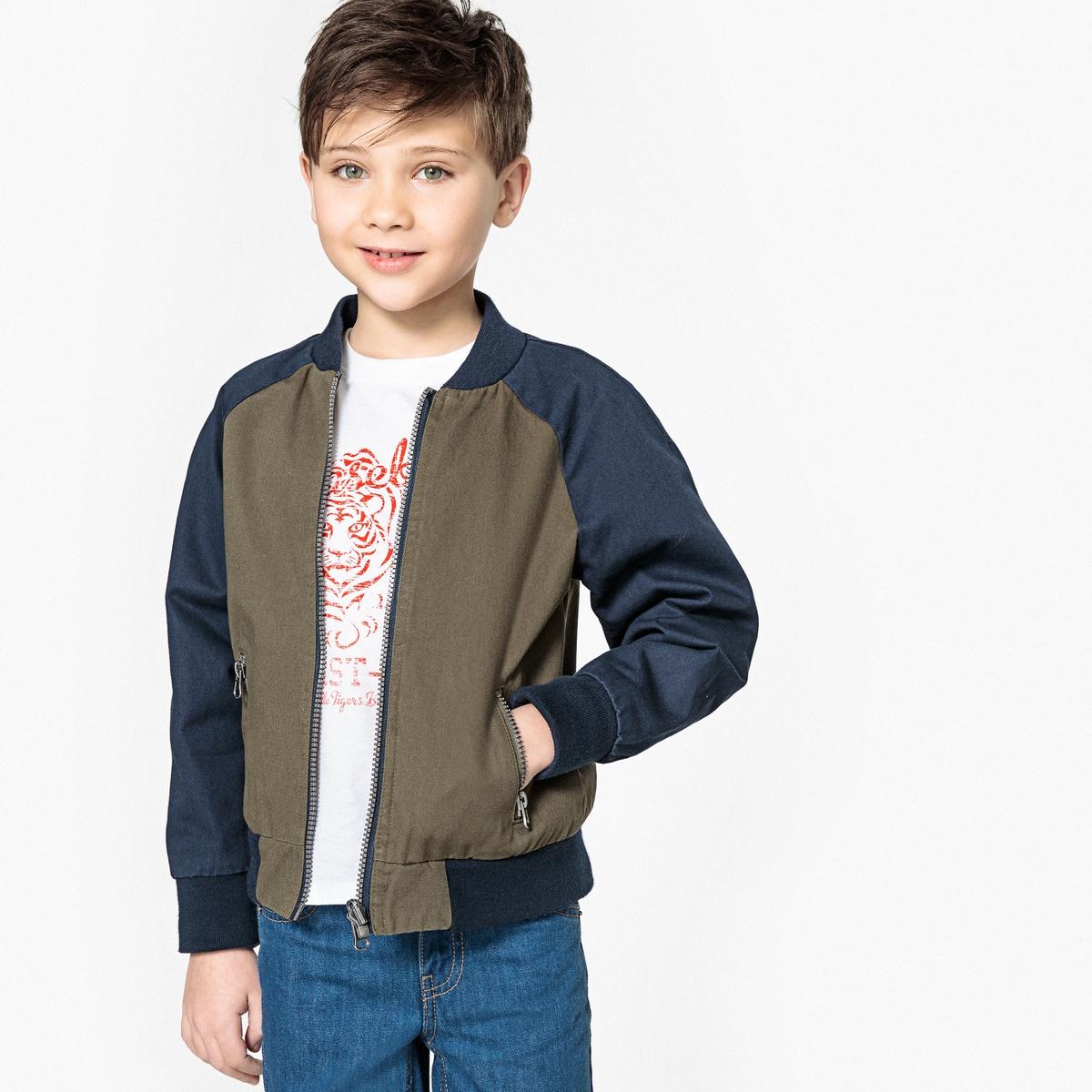 Куртка-бомбер двухсторонняя 3-12 лет