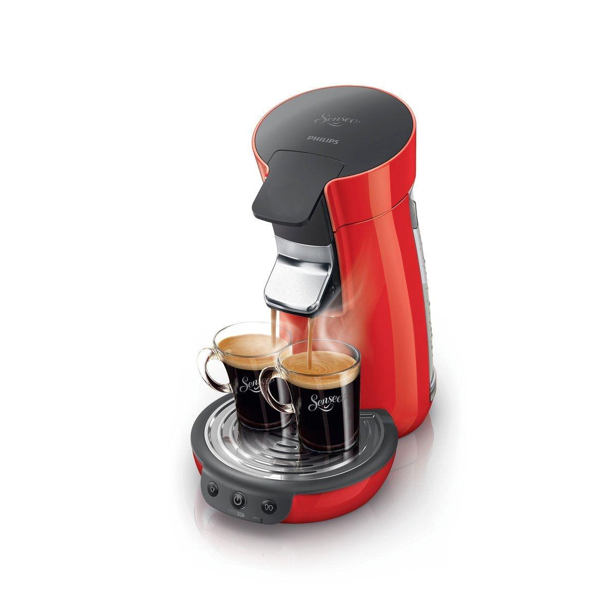 SENSEO Viva Café HD7825/91, Rouge