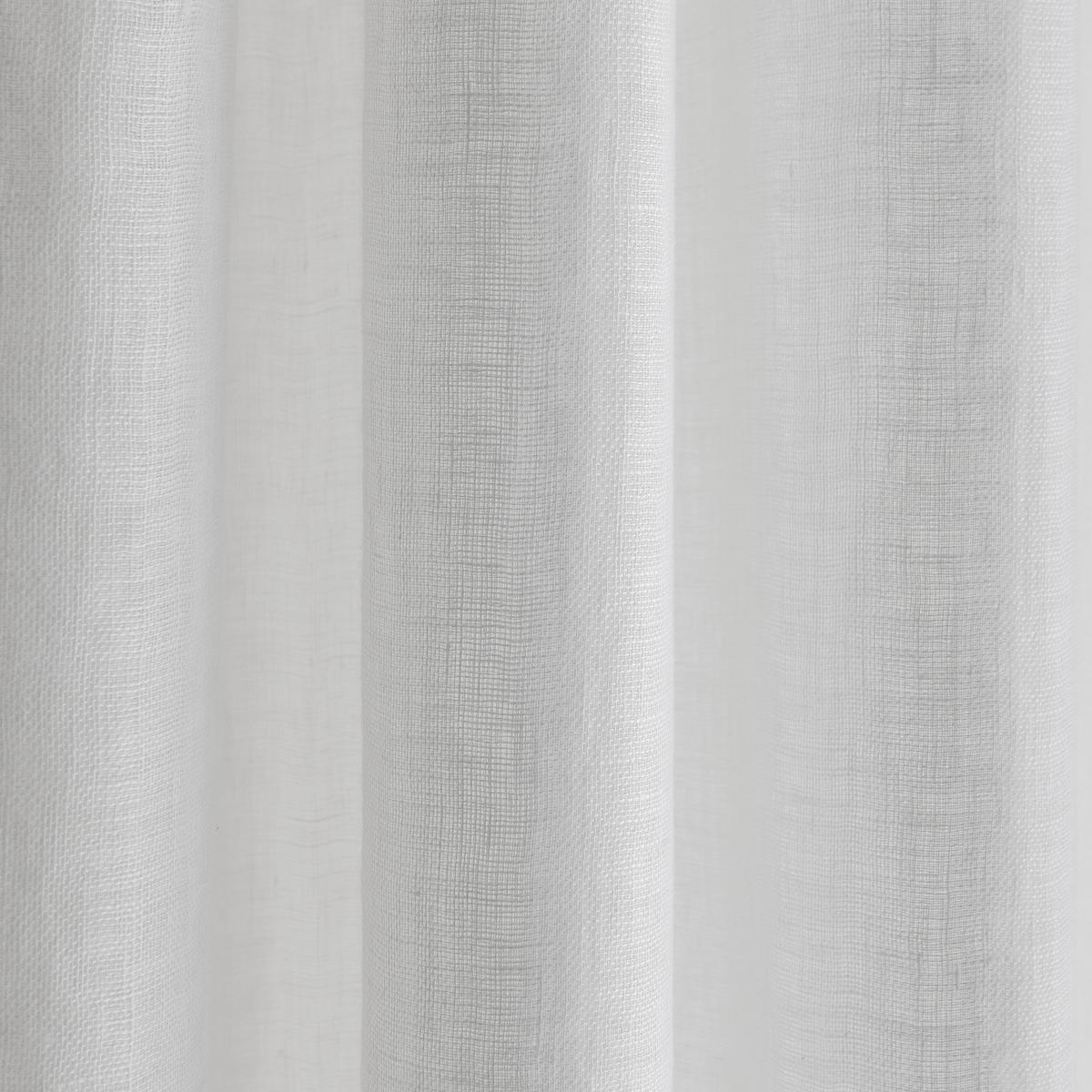 Занавеска, рассеивающая свет, Abuli<br><br>Цвет: белый,светло-серый,серо-бежевый<br>Размер: 140 x 260  см