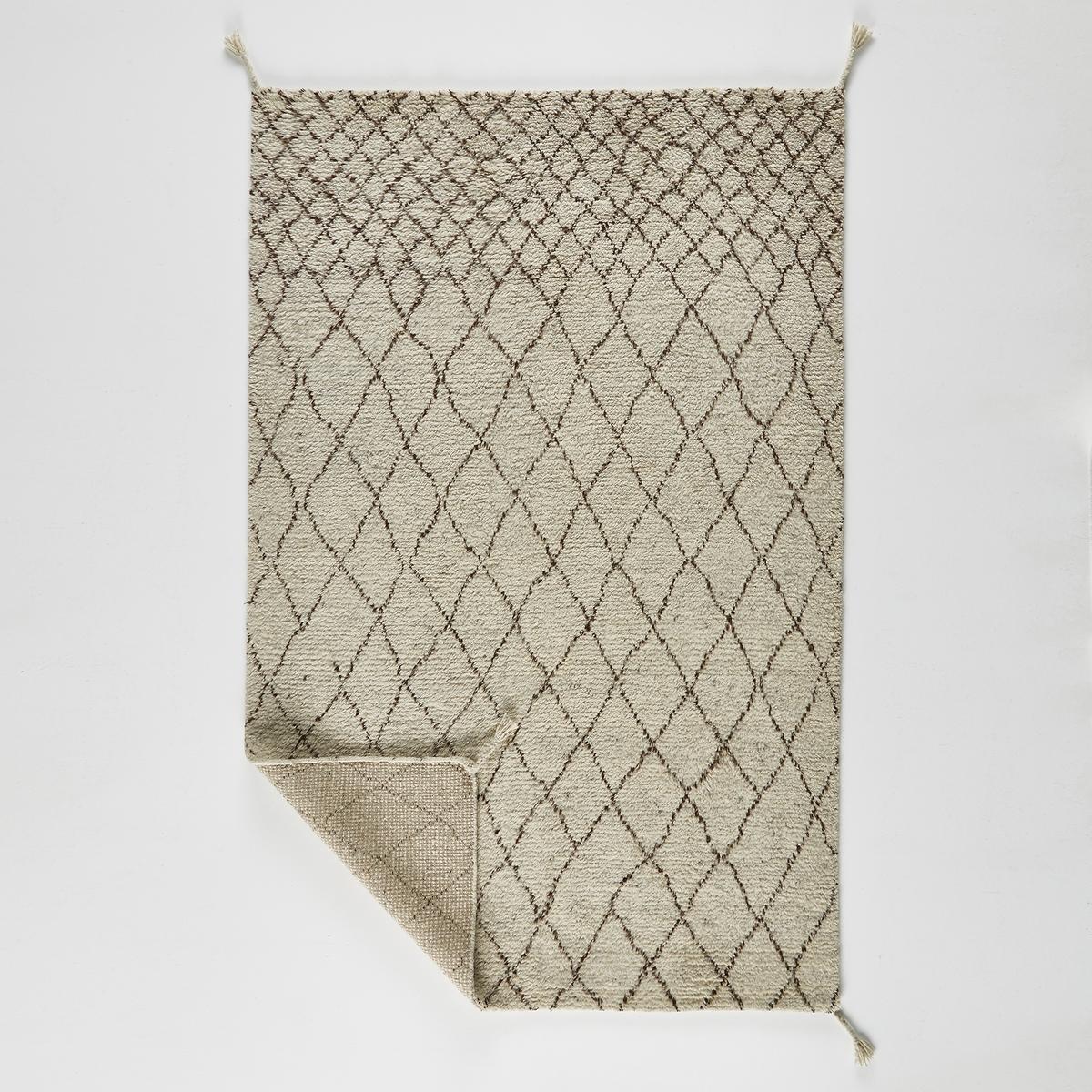 Ковер La Redoute В берберском стиле из шерсти Tekouma 120 x 180 см бежевый ковер la redoute в берберском стиле из шерсти tekouma 120 x 180 см бежевый
