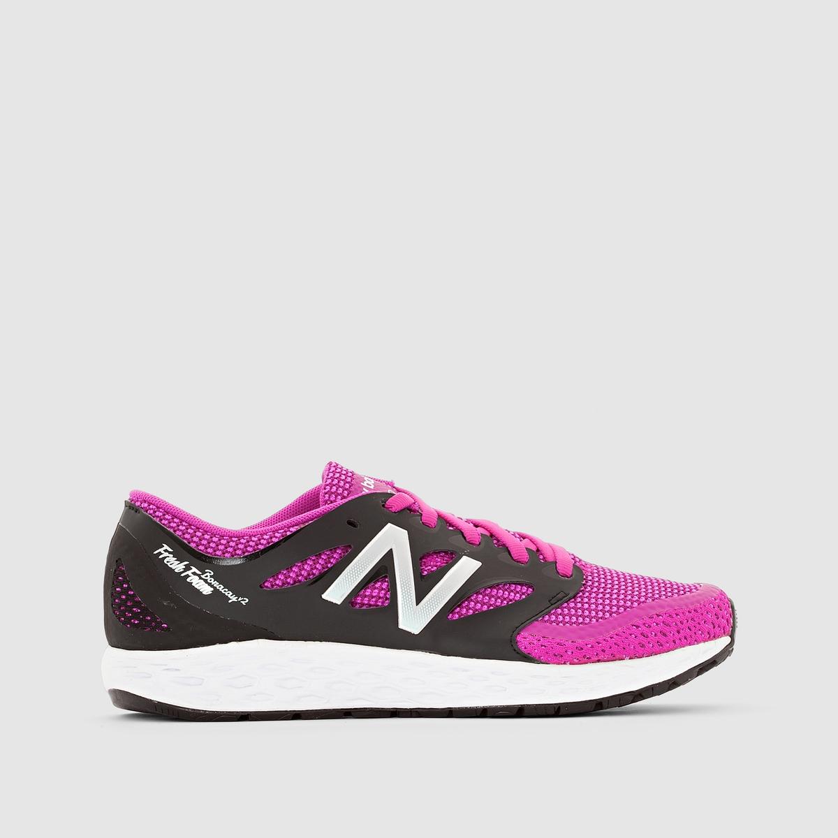 Кроссовки для бега  WBORAEM2Подкладка : текстиль         Стелька : текстиль         Подошва : каучук         Застежка : Шнуровка         Вид спорта : Бег<br><br>Цвет: розовый/ черный