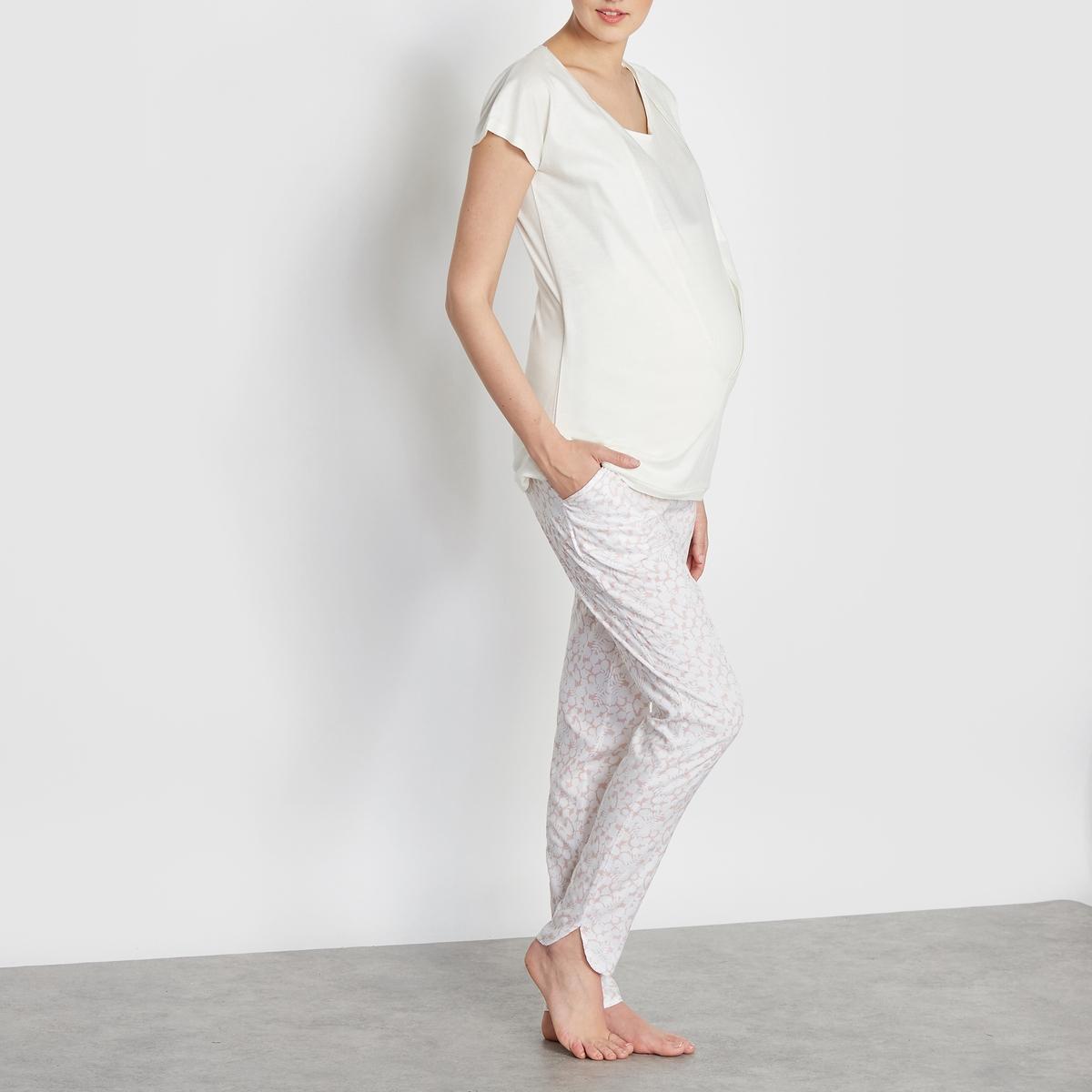 Пижама для беременных и кормящих грудью от La Redoute