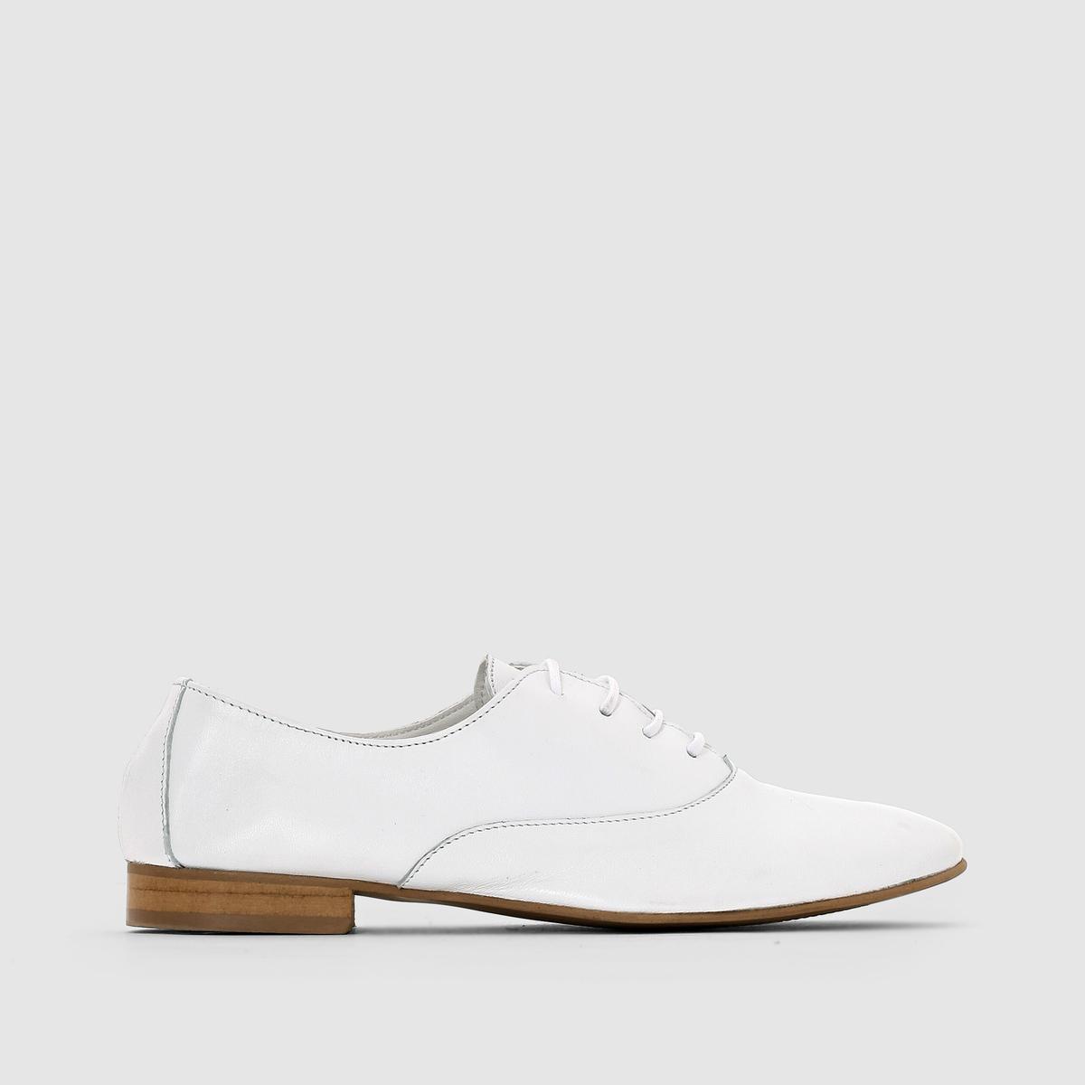 Ботинки-дерби из мягкой кожи от La Redoute Collections