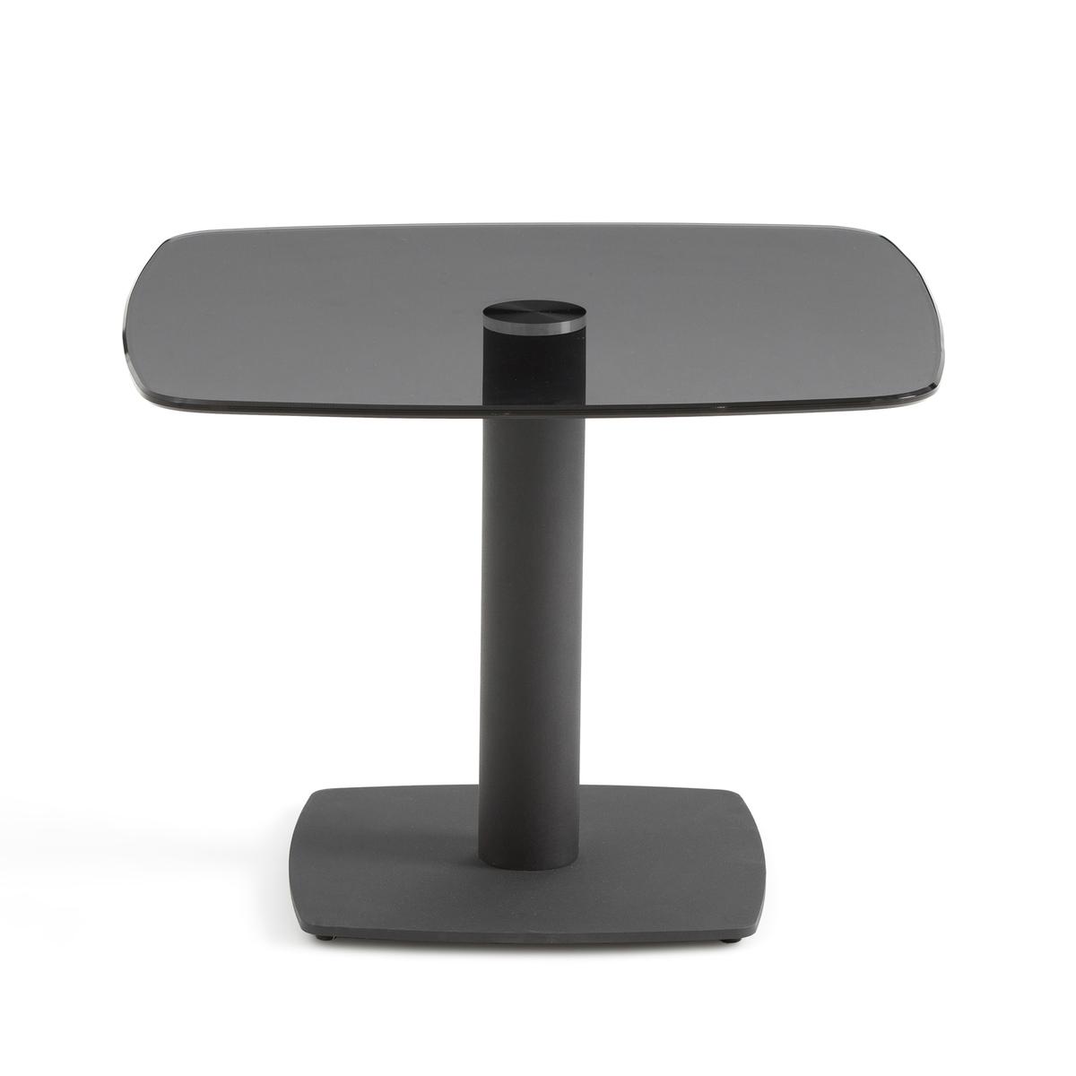 Столик La Redoute Диванный из закаленного стекла Berard единый размер черный столик диванный из бамбука quesada