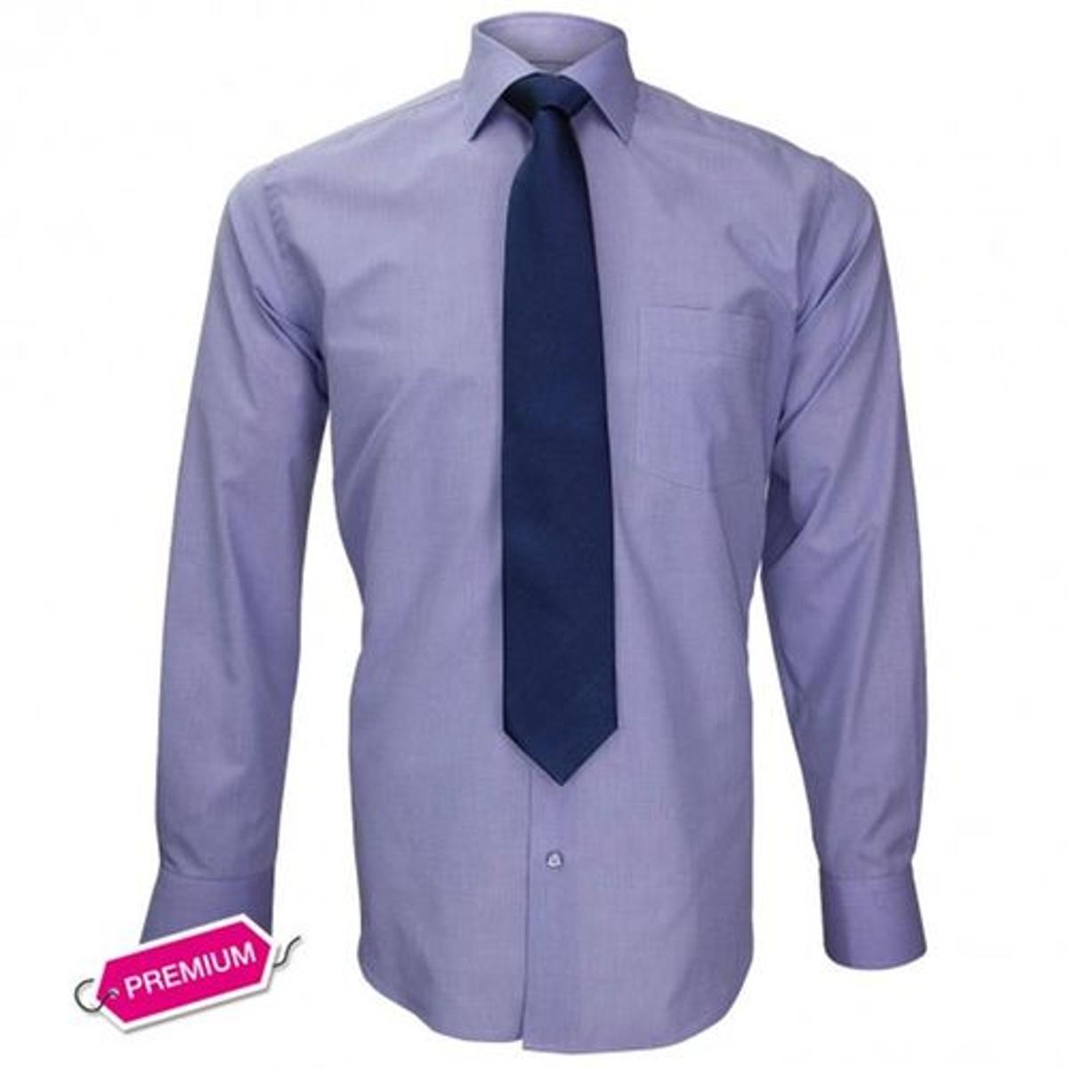 chemise premium classique- fil a fil