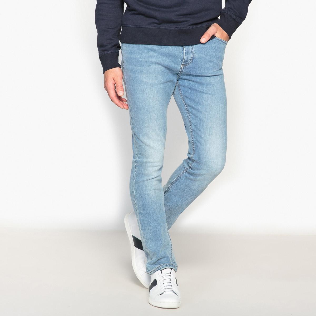 Джинсы La Redoute Узкие 44 (FR) - 50 (RUS) синий брюки la redoute узкие дудочки с жаккардовым рисунком 50 fr 56 rus черный