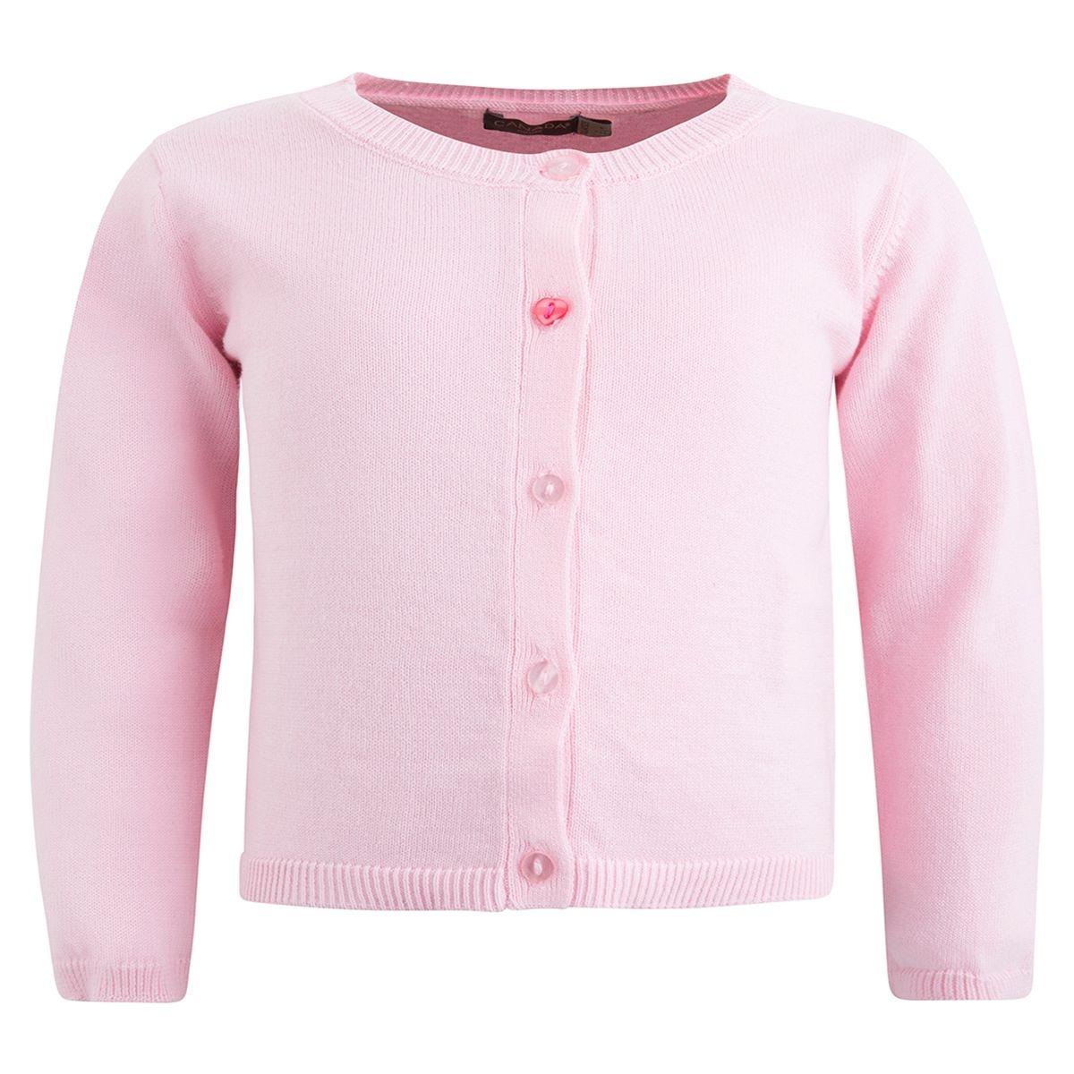 Cardigan bbknit bébé fille rose