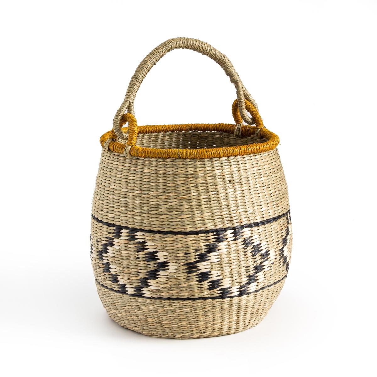 Корзина La Redoute Плетеная в виде шара Zac единый размер бежевый