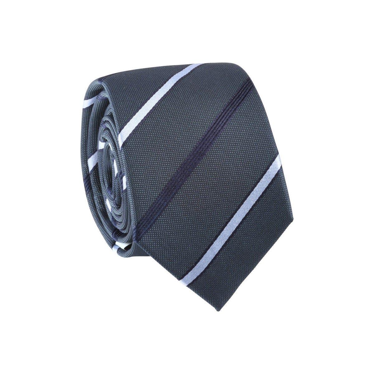 Cravate rayée 100% soie