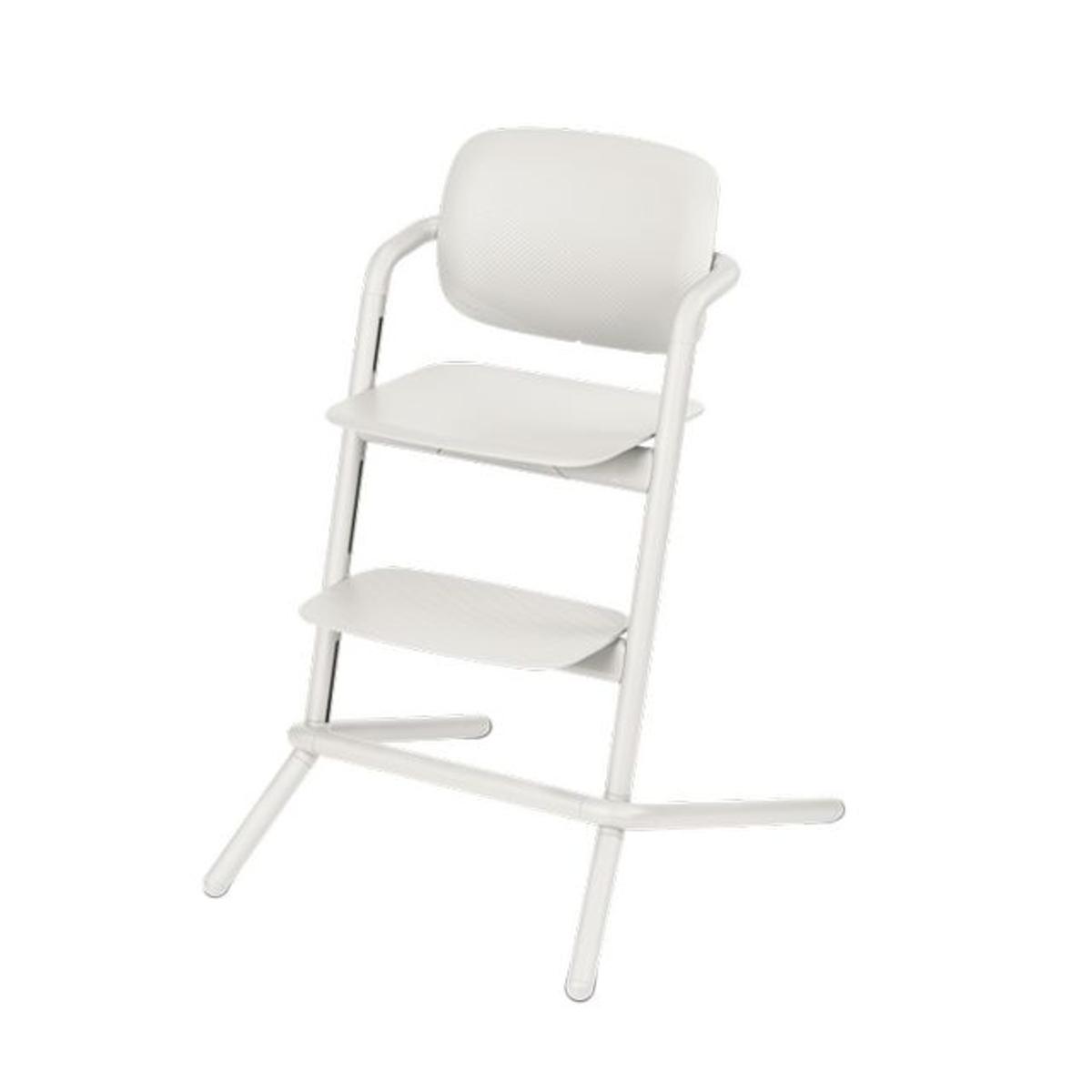 Chaise haute Lemo porcelaine white