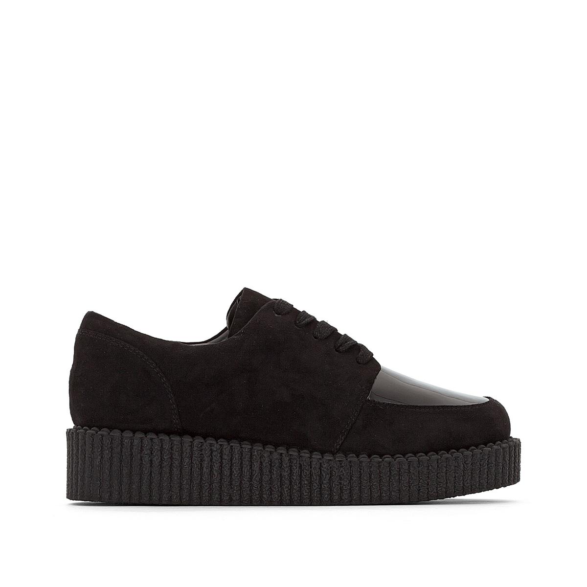 Ботинки дерби-криперы