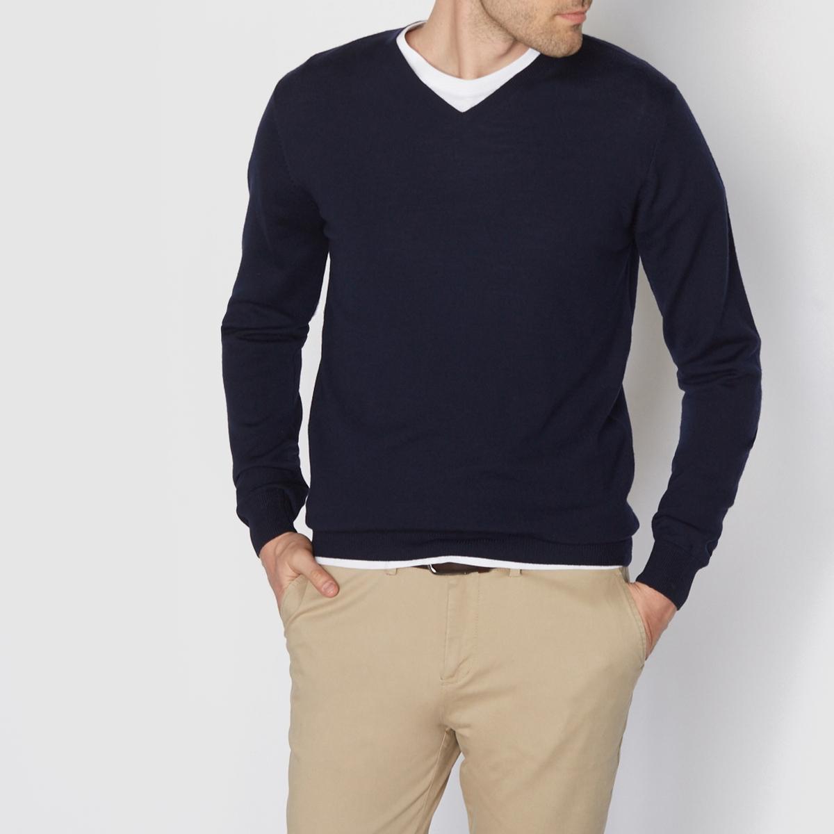 Sweter z dekoltem w kształcie V