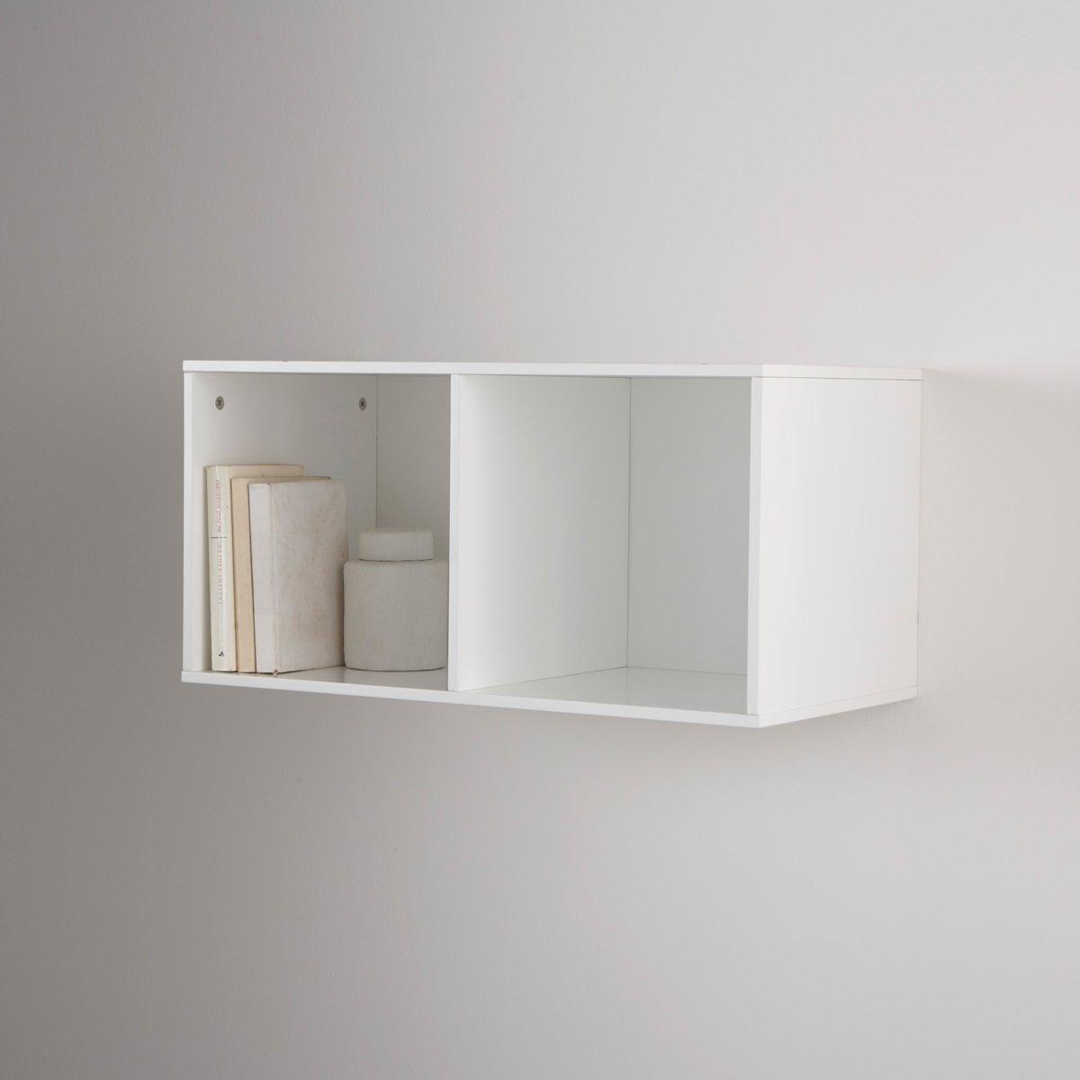 Этажерка, 2 отделения, MayeulХарактеристики :-МДФ  с лаковым покрытием белого цвета Поставляется в разобранном виде .Другие модели коллекции MAYEUL на нашем сайте .Размеры этажерки :Общие : Ширина  34,5 смВысота  70,5 см Глубина  34,5 смВнутренние размеры :Ниша: L33,3 x H32 x P33,3 см Размер  и вес ящика :79 x 9 x 41 см .9,6 см .<br><br>Цвет: белый