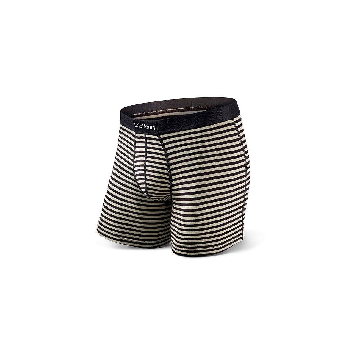 Boxer Graphic Stripes Noir
