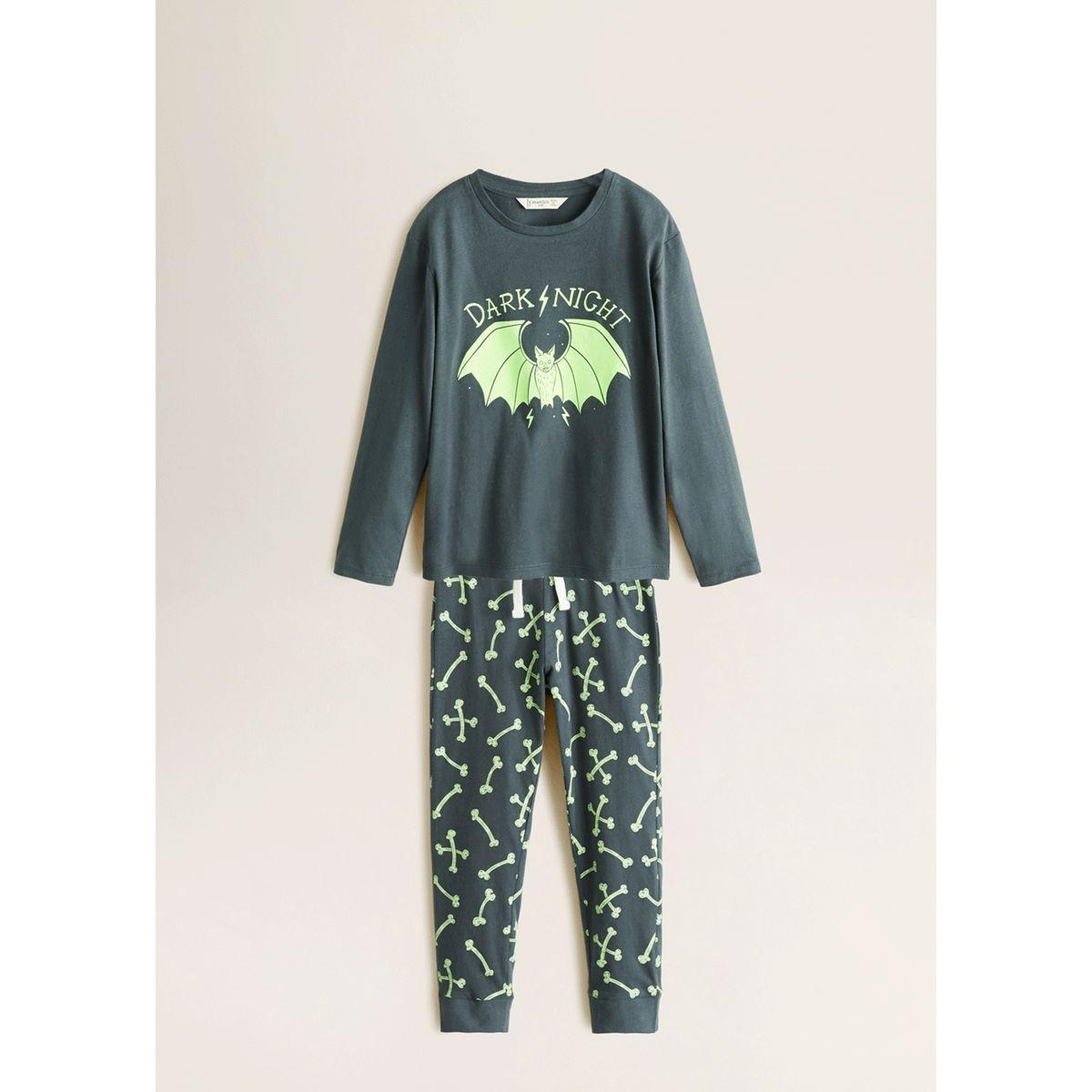 Pyjama phosphorescent