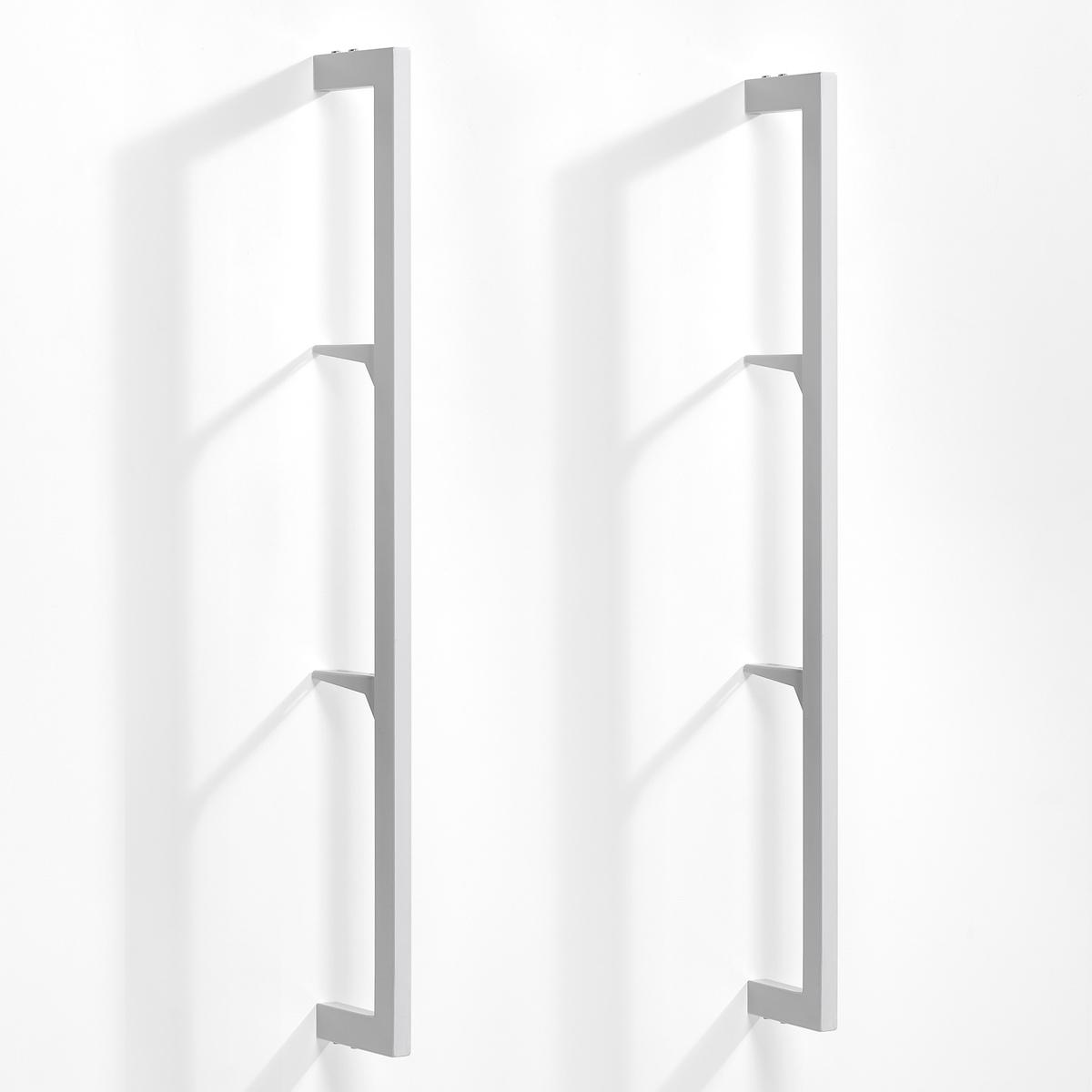 2 стойки Taktik для системы хранения вещейКомплект из 2 стоек Taktik. Модулируемая система полок с минималистичным дизайном, созданная для всех типов пространств и на любой взыскательный вкус . Угловые кронштейны позволяют регулировать высоту полок и ящиков на ваше усмотрение.Характеристики:- Металл с эпоксидной отделкой.- Система верхних креплений (винты продаются отдельно).- Стойки, уголки, полки и ящики продаются отдельно.Размеры :- Ш.2,5 x В.110 x Г.16 см.<br><br>Цвет: белый,черный