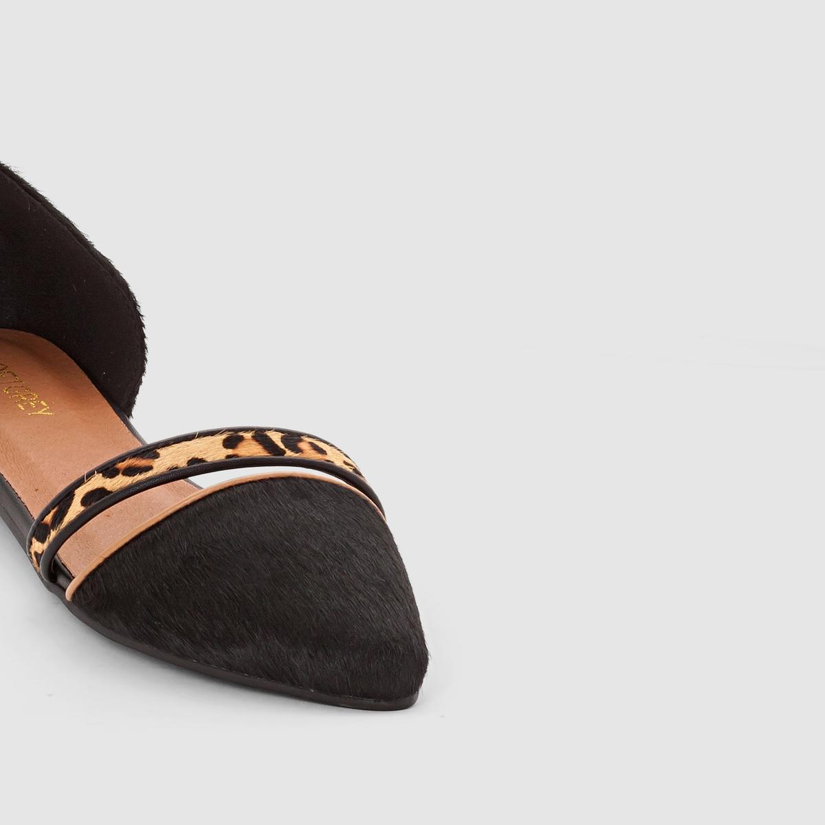 Туфли без задника в духе слиперов от La Redoute Collections