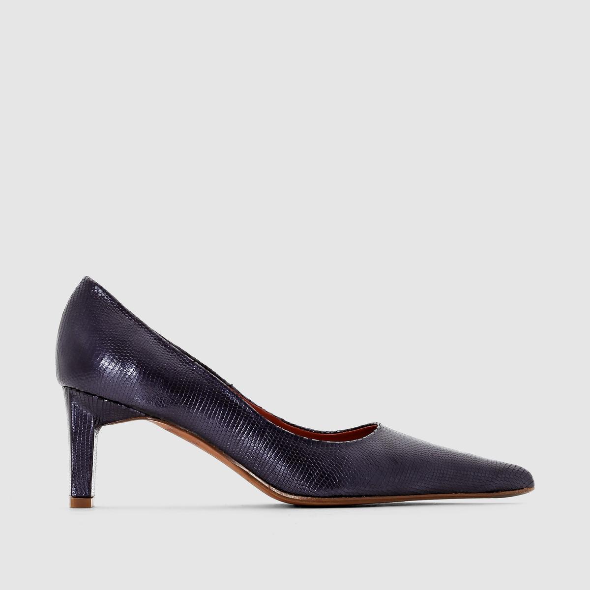 Туфли-лодочки из кожи KENT - ELIZABETH STUART цены онлайн